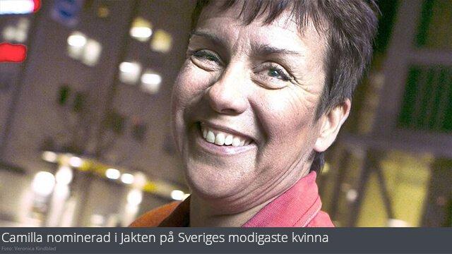 Camilla Lebert Hirvi Nominerad till Sveriges Modigaste Kvinnor Expressen