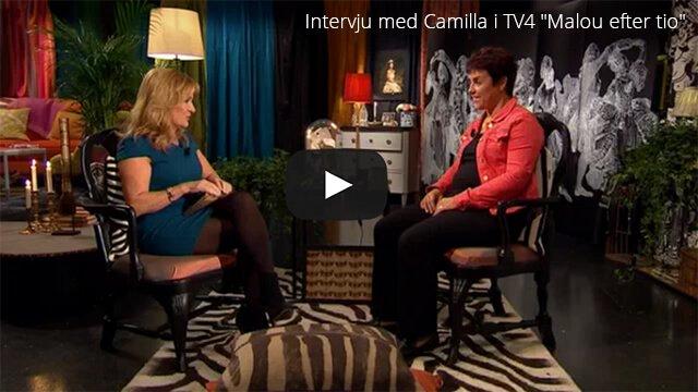 Intervju med Camilla i TV4 Malou efter tio