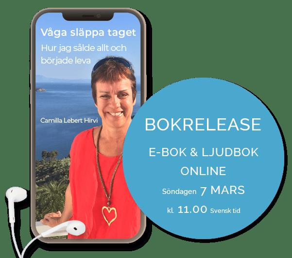 Bok Release Våga släppa taget Camilla Lebert Hirvi