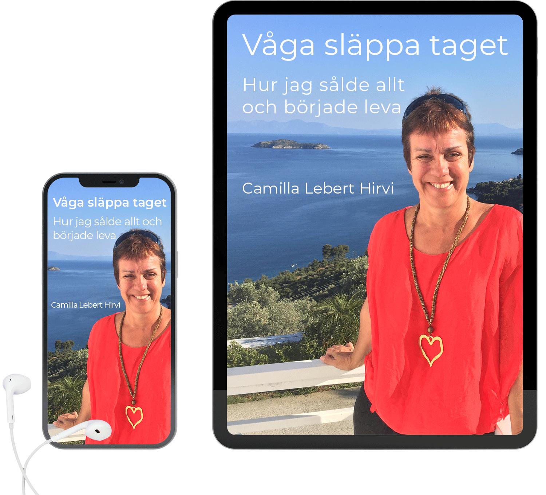 E-bok Ljudbok Våga släppa taget av Camilla Lebert Hirvi